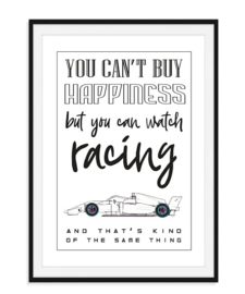 You can't buy happiness - Poster