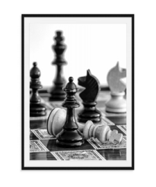 Schaken - Poster