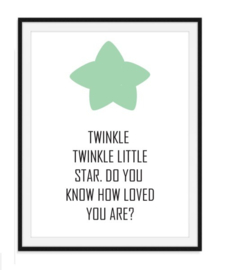 Twinkle Twinkle little star - Poster