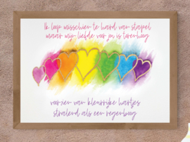 Torenhoge liefde poster