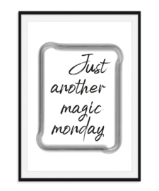 Just another magic monday - Poster