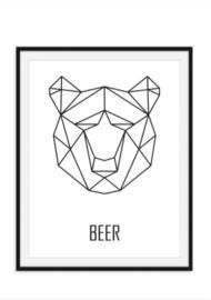 Beer poster - Geometrisch
