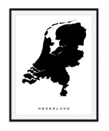 Nederland - Favoriete landen op poster