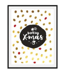 Merry X-Mas - Poster Kerst
