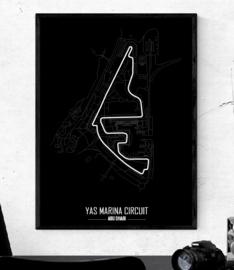 Yas Marina Circuit Poster - Minimalistisch