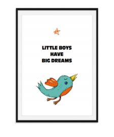 Little boys - Poster