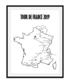 Tour de France 2019 Poster