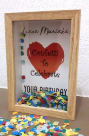 3D Kader Confetti to Celebrate met confetti
