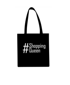 Katoenen draagtas #shoppingqueen