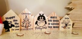 Kerstmis huisjes set van 3