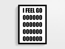 I feel good - Poster