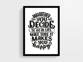 Whatever you decide - Poster
