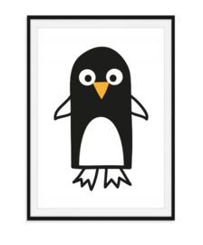 Vrolijke pinguïn - Poster