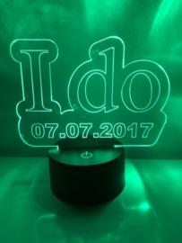 LED Lamp I Do met Datum