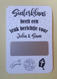 Kraskaart Sinterklaas