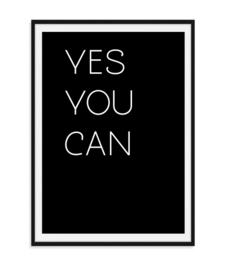 Yes You Can - Poster
