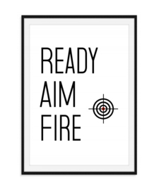 Ready Aim Fire - WC poster