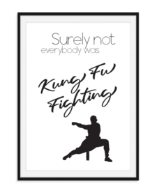 Kung Fu fighting - Poster