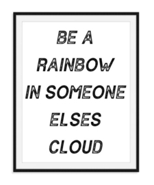 Be a rainbow - Poster
