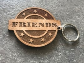 Sleutelhanger FRIENDS met tot 4 namen