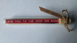 Love you to the Moon - Flessenpost