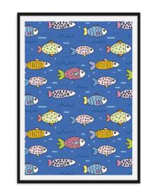Fish - Poster vol vissen