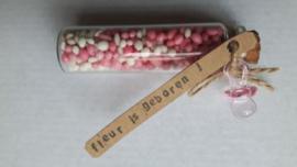 Muisjes® van De Ruijter roze - meisje geboren