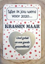 Kraskaart Sterren - Eigen tekst