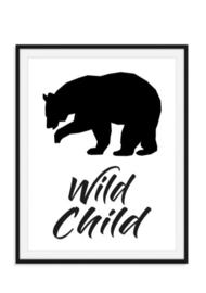 Wild Child poster - IJsbeer