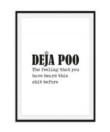Deja Poo - Poster