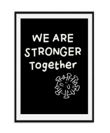 Stronger together - Poster