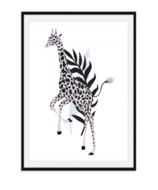 Jungle poster - Giraffe
