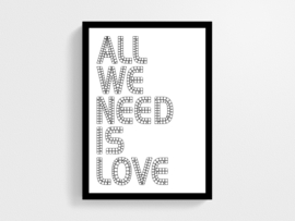 All we need is love - Poster