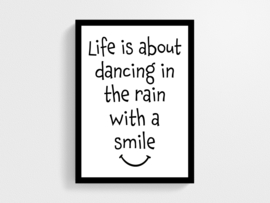 Life is about dancing - Poster