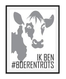 Ik ben boerentrots - Poster v.a. A5 formaat