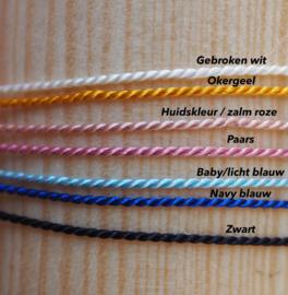 Morsecode armband met eigen naam - Flessenpost