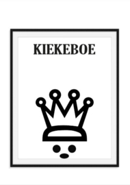 Kiekeboe poster met kroon