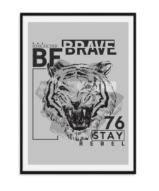 Be brave - Poster