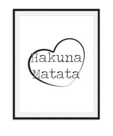 Hakuna Matata - Poster