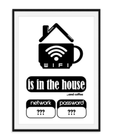 Wifi is in the house - Poster