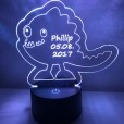 LED Lamp Monster Dancy met Naam + Datum