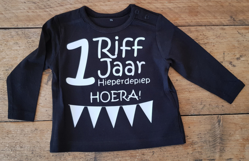 Verjaardag Shirt met naam en jaar