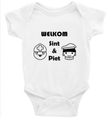 Welkom Sint en Piet rompertje