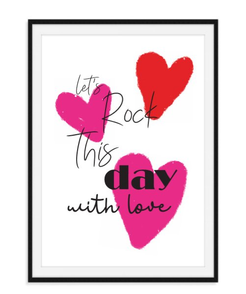 Let's rock this day - Poster