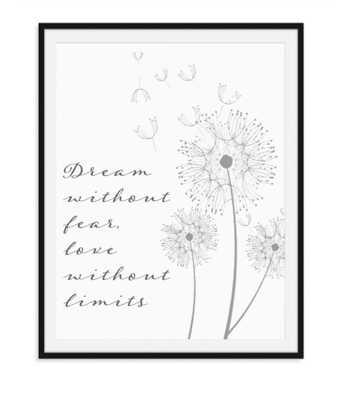 Dream without fear - poster