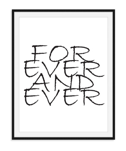 For ever and ever - Poster