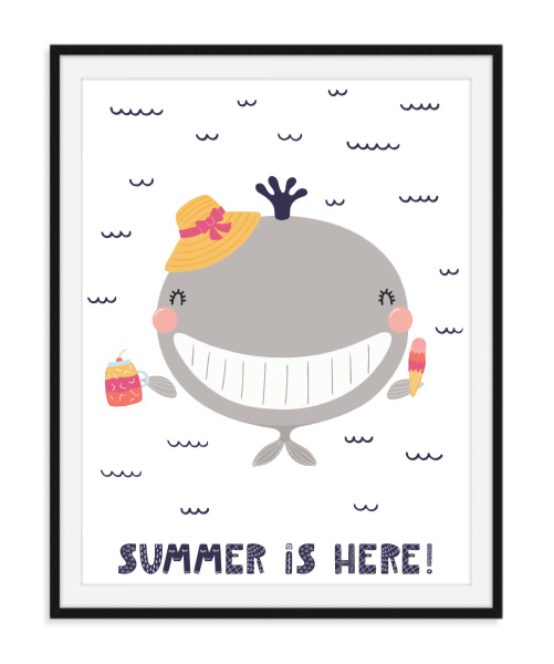 Summer is here - Zomerse poster