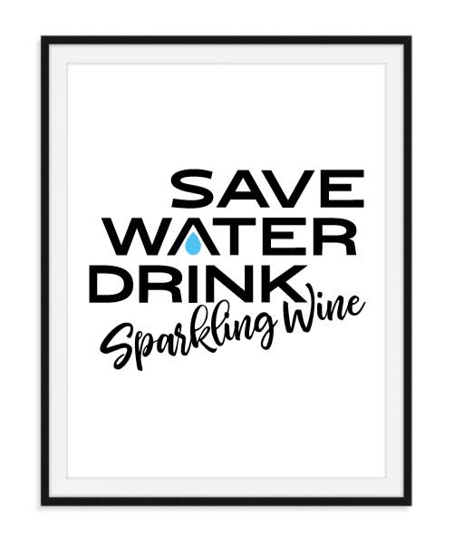 Sparkling Wine - Poster