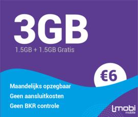 Sim only 3GB