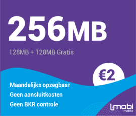 Sim only 256MB